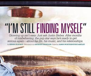 justin bieber, magazine, and Seventeen image