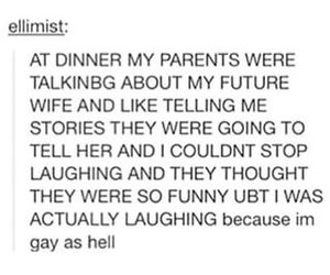 funny, gay, and jokes image
