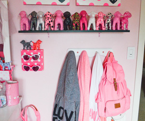 pink, room, and Victoria's Secret image