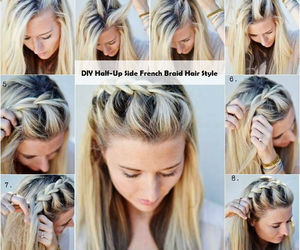 diy, french, and hair image