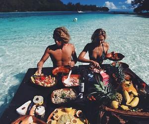 beach, boho, and boy image