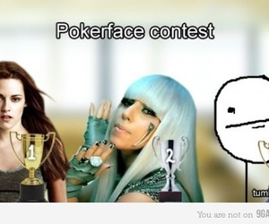 meme and poker face image