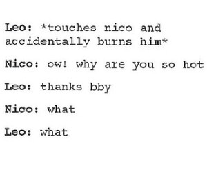 tumblr, percy jackson, and nico di angelo image