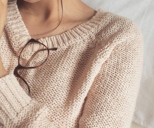 glasses, sweater, and tumblr image