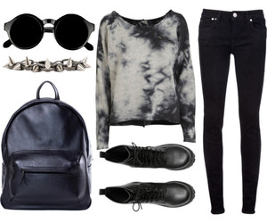 accessories, boots, and jeans image