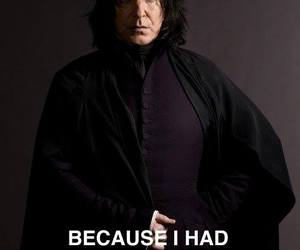 harry potter, nose, and severus snape image