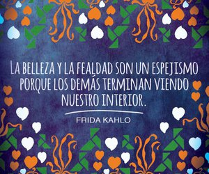 belleza, frases, and frida kahlo image