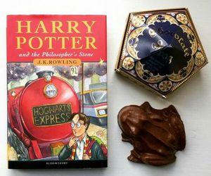 books, childhood, and chocolate image