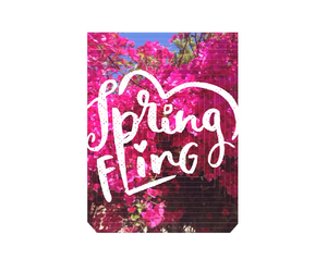 fling, spring, and flowers image