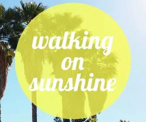 sunshine, summer, and happy image