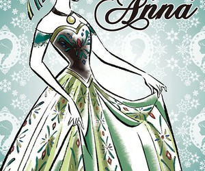 disney princess, princess anna, and frozen image