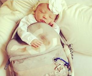 baby, chanel, and cute image