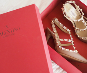 fashion, style, and Valentino image