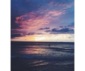 clouds, sea, and love image
