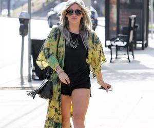 candid, fashion, and Hilary Duff image