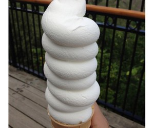 ice cream, food, and vanilla image