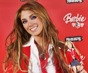 Anahi, rebelde, and barbie image