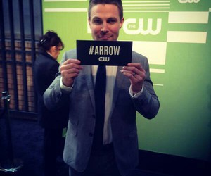 arrow, stephen amell, and cw upfronts image