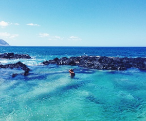 summer, ocean, and blue image