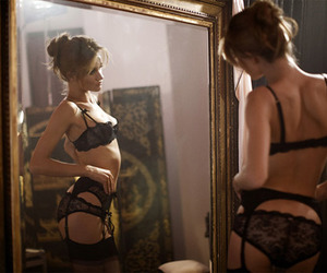 bra, Hot, and lace image