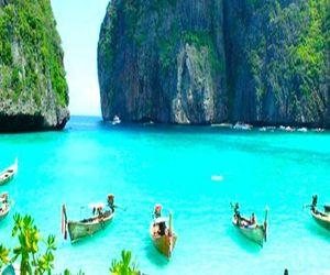 summer, thailand, and beach image