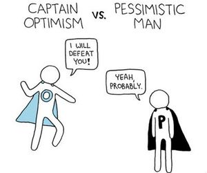 optimism and pessimistic image