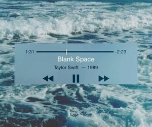 Taylor Swift, blank space, and music image