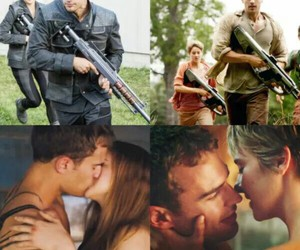 fourtris, insurgent, and divergent image
