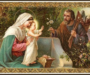 card, holy, and jesus image