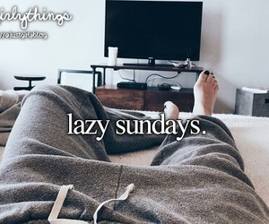 lazy sundays and just girly things image