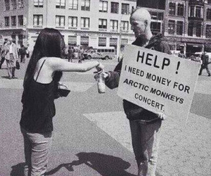 concert, help, and arctic monkeys image