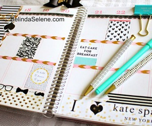 agenda, planner, and erin condren image