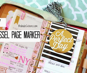 agenda, diy, and filofax image
