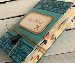 diary and book image