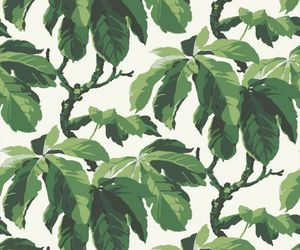 wallpaper, pattern, and plants image