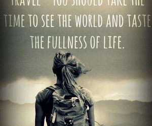travel, quote, and young image