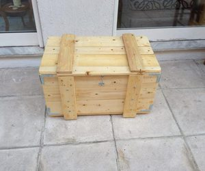 pallets creations, storage box, and pallets storage box image