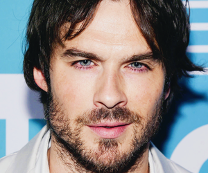 blue eyes, handsome, and ian somerhalder image