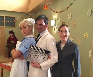 call the midwife, trixie franklin, and dr. patrick turner image