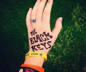 bands, Sharpie, and the black keys image