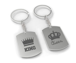 chrome, couple gift, and keychain image