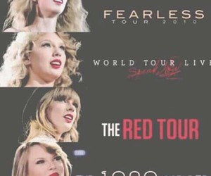Taylor Swift and tours image