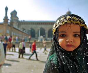 baby, cute, and islam image