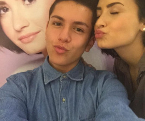 demi lovato, gallery, and lohanthony image