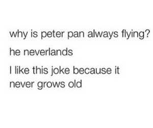 funny, peter pan, and post image