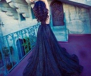 beautifull, dress, and girl image