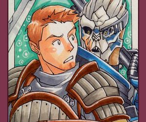 mass effect, dragon age, and alistair image