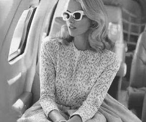 fashion, blonde, and vintage image