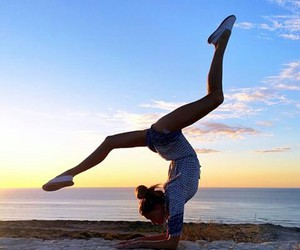 fitness, sport, and yoga image