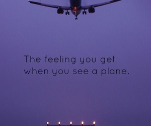 airplane, aviation, and plane image